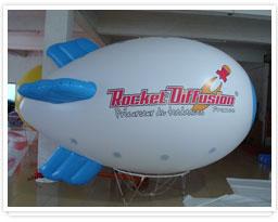 zeppelin ballonnen pvc